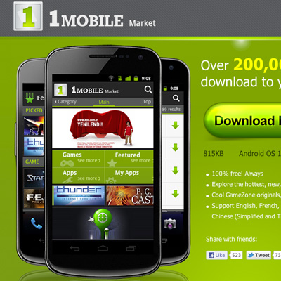 download one mobile market for free