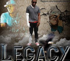 Legacy - R&B prodigy's self-titled album free on FrostWire under Creative Commons