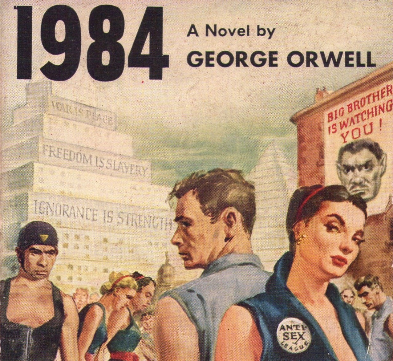 love george orwell s 1984 George orwell's dystopian novel 1984 has had doublegood sales after one of trump's advisers used the phrase alternative facts in an interview.