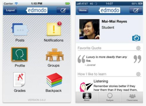 how to get badges on edmodo