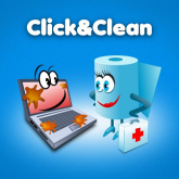click and clean logo